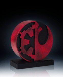 Star Wars - Imperial/Rebel logo könyvtámasz