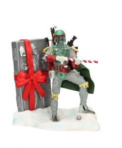 Star Wars Figure Boba Fett Santa Claus 20 cm