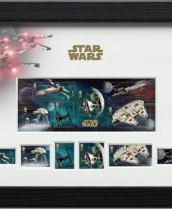 Star Wars Framed Stamps Vehicles 43 x 27 cm
