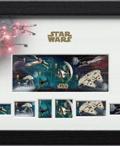 Star Wars Framed Stamps Vehicles 43 x 27 cm