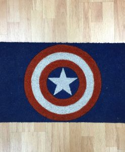 Captain America Doormat Shield 43 x 73 cm