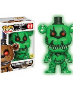 Five Nights at Freddy's Games Funko POP! GITD- Nightmare Freddy