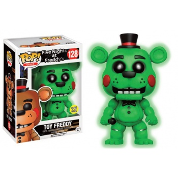 Five Nights at Freddy's Games Funko POP! GITD- Toy Freddy