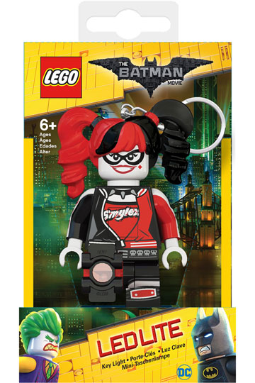 Lego Harley Quinn zseblámpa és kulcstartó