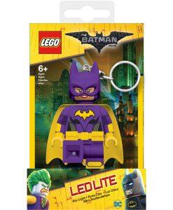 Lego Batgirl zseblámpa és kulcstartó