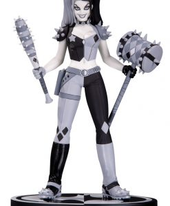 DC Comics - Black & White Harley Quinn szobor (Amanda Conner)