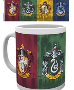 Harry Potter Mug All Crests