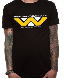 x_pe11868tsbp Aliens T-Shirt Weyland-Yutani Corporation