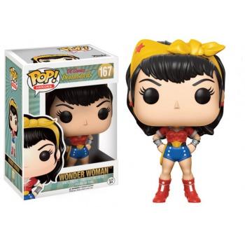 15111_puihacc DC Comics Bombshells POP! Heroes Vinyl Figures 9 cm Wonder Woman
