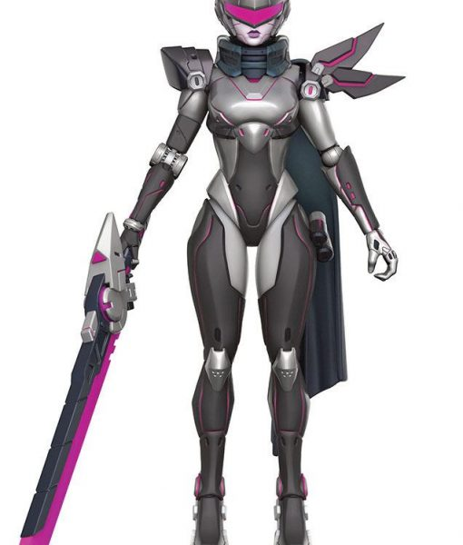 x_fk11362 League of Legends Legacy Collection Action Figure Fiora (PROJECT Skin) 15 cm