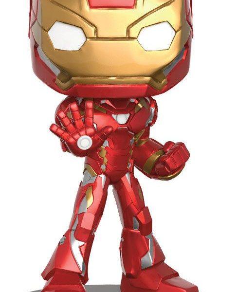 x_fk12479 Captain America Civil War Wacky Wobbler Bobble-Head Iron Man 16 cm