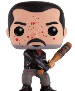 x_fk13301 Walking Dead POP! Television Vinyl Figure Bloody Negan 9 cm