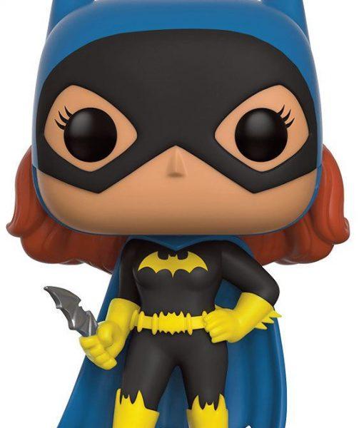 x_fk13875 DC Comics POP! Heroes Figure Silver Age Batgirl 9 cm