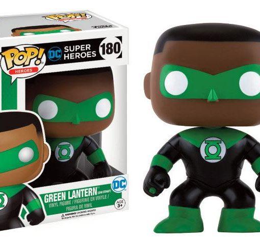 x_fk13877 DC Comics POP! Heroes Figure Green Lantern (John Stewart) 9 cm