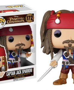 x_fk7105 Pirates of the Caribbean POP! Vinyl Figure Captain Jack Sparrow 9 cm