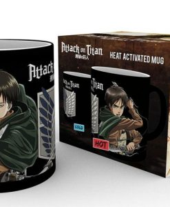 x_gye-mgh0025 Attack on Titan Heat Change Mug Scouts