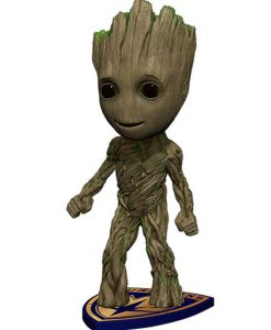 x_neca38716 Guardians of the Galaxy Vol. 2 Head Knocker Bobble-Head Groot 18 cm