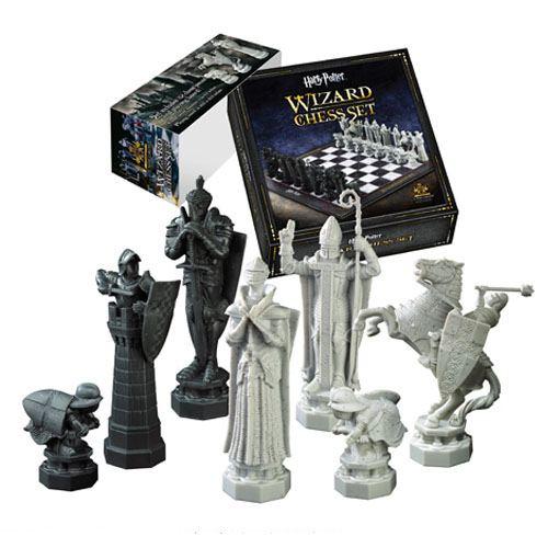 x_nob7580_b x_nob7580 Harry Potter Chess Set Wizards Chess