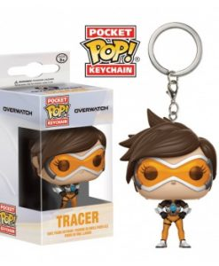 Overwatch Funko Pocket POP! kulcstartó - Tracer