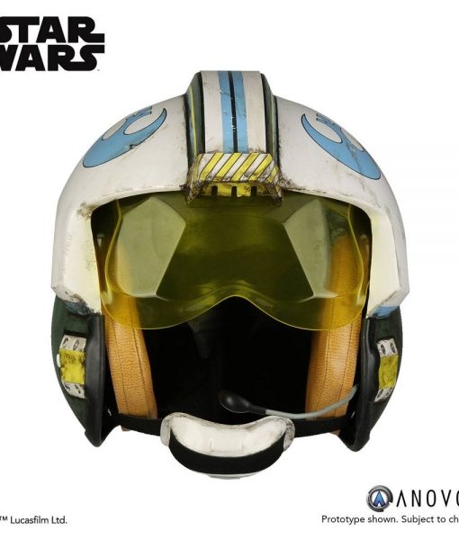 Star Wars Rogue One – General Merrick Blue Squadron 1/1 sisak replika