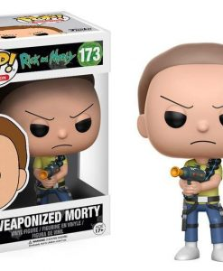 x_fk12440 Rick and Morty POP! Animation Vinyl Figure Weaponized Morty 9 cm