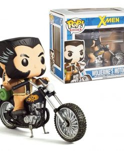 x_fkmcc014 X-Men POP! Rides Vinyl Vehicle with Figure Motorcycle & Wolverine 16 cm