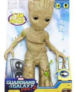 x_hasc0225 Marvel Comics - Guardians of the Galaxy Vol. 2 - Interaktív Figura Dancing Groot 29 cm