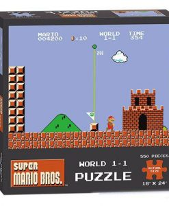 x_usapz005-488 Super Mario Bros. Puzzle World 1-1