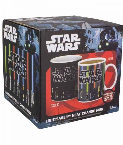 Star Wars hőre változós bögre - Lightsaber