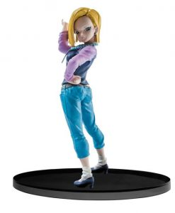 Dragonball Super SCultures Figura - Big Budoukai Android 18 (17cm)