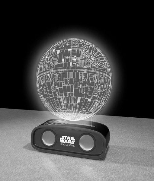 x_bs144896ds x_bs144896ds_c Star Wars Bluetooth Sound Reactive Speaker Death Star 26 cm