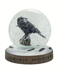 Game of Thrones Snow Globe - The Three-eyed Raven (17cm)