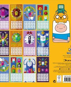 Adventure Time naptár 2018