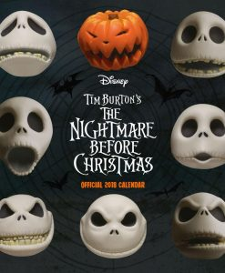 Nightmare before Christmas naptár 2018