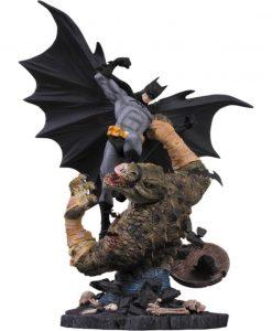 DC Comics Szobor - Batman vs Killer Croc 2nd Edition (42cm)