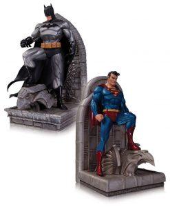DC Comics Könyvtámasz - Superman & Batman (22cm)