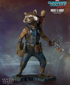 Guardians of the Galaxy 2 Collectors Gallery Szobor - 1/8 Rocket & Groot (11 cm)