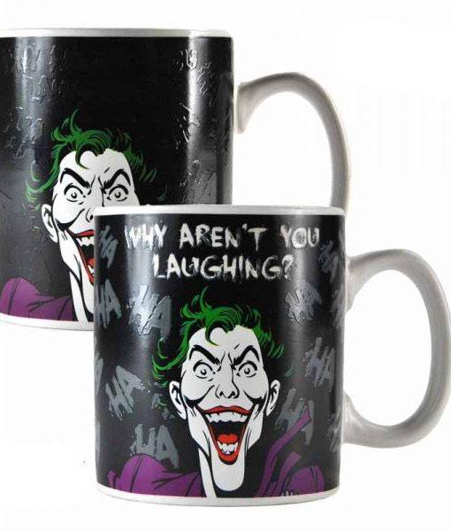 Batman hőre változós bögre - Joker