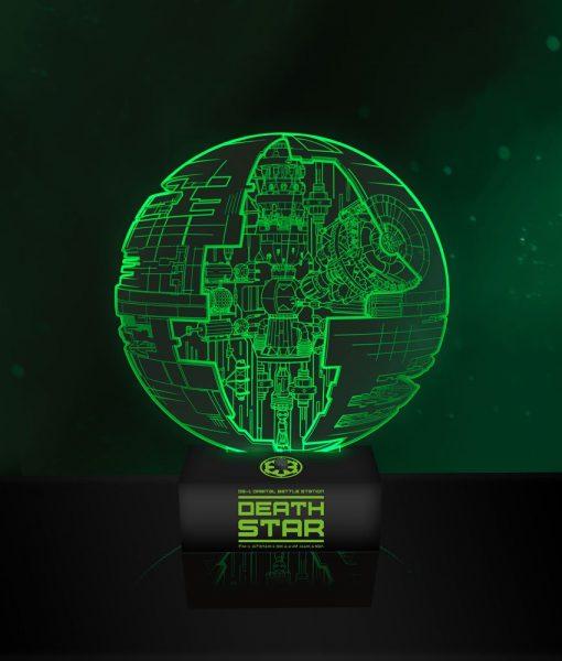 Star Wars Rogue One Lámpa - Death Star