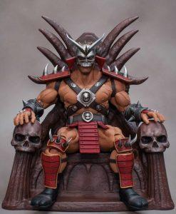 Mortal Kombat Akciófigura - 1/12 Shao Kahn (20cm)
