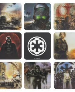 Star Wars Rogue One Coaster 3D 8-Pack