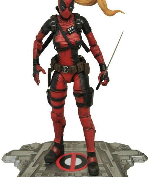 Marvel Select Akciófigura - Lady Deadpool (16cm)