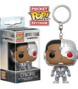 Justice League Funko Pocket POP! kulcstartó - Cyborg