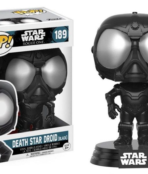 Star Wars Rogue One Funko POP! Bobble-Head figura - Death Star Droid (Black)