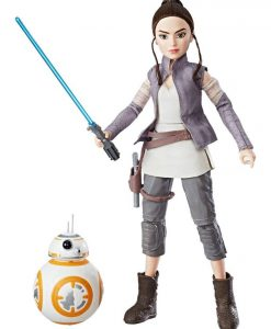 Star Wars Forces of Destiny akciófigura 2017 - Rey of Rakku & BB-8 (28cm)