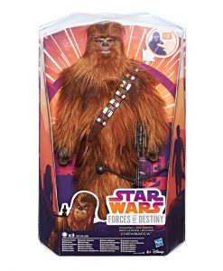 Star Wars Forces of Destiny akciófigura 2017 - Chewbacca (28cm)