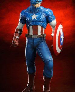 Marvel Comics ARTFX+ PVC Szobor - Captain America (19cm)