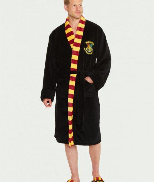 Hogwarts-Mens-Bathrobe_front_Harry Potter köntös - Hogwarts (Roxfort)