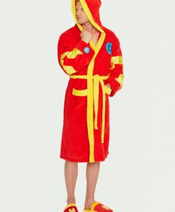 Iron-Man_Bathrobe_Front_Marvel Comics - Iron Man köntös