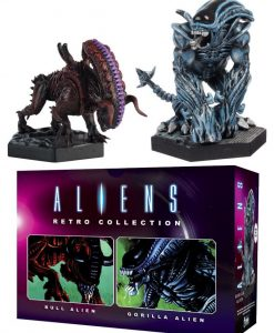 Aliens Retro Collection 2-pack figurák - Gorilla Alien & Bull Alien (13cm)